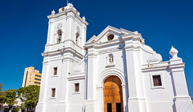 Crystal Cruises Santa Marta Cathedral in Colombia