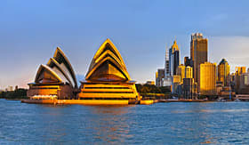 Crystal Cruises - Sydney Opera House