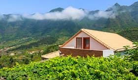 Crystal Cruises vineyard on Madeira Island Portugal