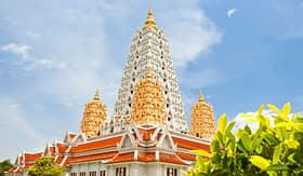 Crystal Cruises Buddhagaya Pagoda in Temple Wat Yansangwararam Thailand