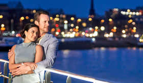 Crystal River Cruises Happy Couple