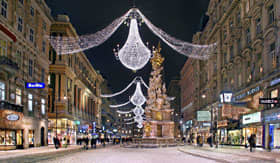 Crystal River Cruises Christmas in Vienna