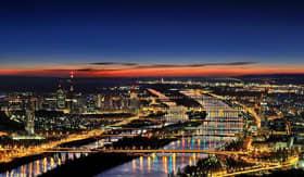 Crystal River Cruises Vienna at Night