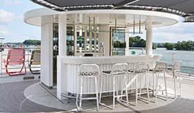 Crystal River Cruises Vista Pop-up Bar