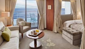 Crystal staterooms Penthouse Suite