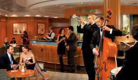 Cunard entertainment Chart Room