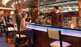 Cunard entertainment Commodore Club
