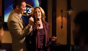 Cunard entertainment Karaoke