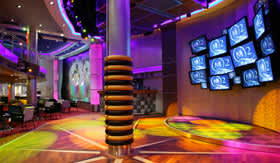 Cunard entertainment Night Club G32