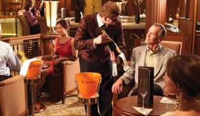 Cunard entertainment Vueve Cliquot Champagne Bar