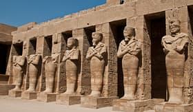 Cunard Line Karnak Temple Complex in Luxor, Egypt