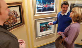 Cunard onboard Activities Art Gallery