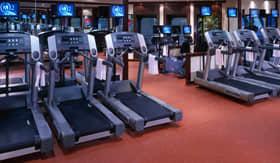 Cunard spa & fitness Gymnasium