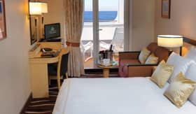 Cunard staterooms Balcony Stateroom