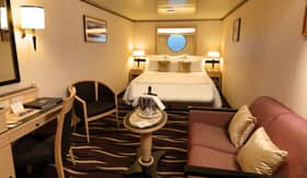 Cunard staterooms Oceanview Stateroom