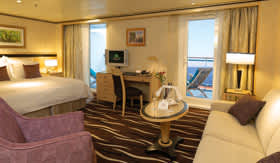 Cunard staterooms Queens Grill Suite