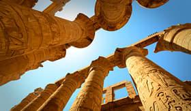 Temple Karnak in Egypt