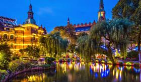 Europe CruiseTours Tivoli Gardens Copenhagen, Denmark
