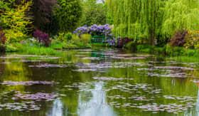 Europe CruiseTours Giverny Claude Monets garden France