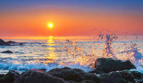 Sunset in Cuba