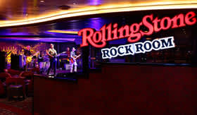Rolling Stone Rock Room aboard Holland America