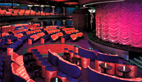 Holland America entertainment Theater