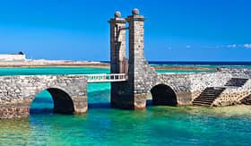 Holland America Line architectural details in Arrecife Lanzarote