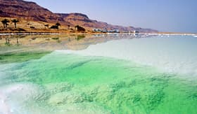 Holland America Line beach of the Dead Sea in Israel