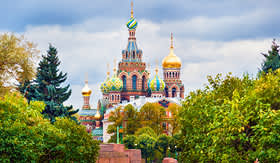 Holland America Line  Church of the Resurrection of Christ Saviour on spilled blood St Petersburg Russia