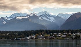Holland America Line Mountains of Haines, Alaska