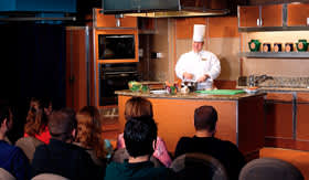 Holland America onboard activities Culinary Arts Center
