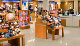 Holland America onboard activities Shopping