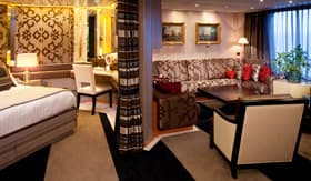 Holland America staterooms Pinnacle Suite