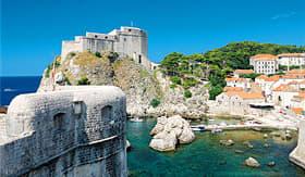 MSC Cruises coast line of Dubrovnik