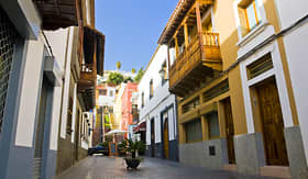 MSC Cruises colorful historic town Teror in Grand Canaria Island Spain