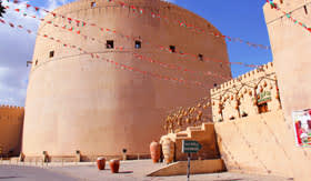 Nizwa Fort in Muscat, Oman