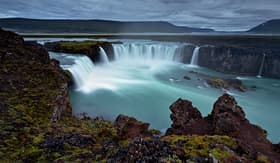 MSC Cruises Godafoss the Waterfall of Gods Akureyri Iceland