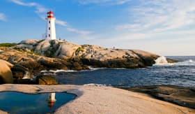 Lighthouse in Sydney, Nova Scotia