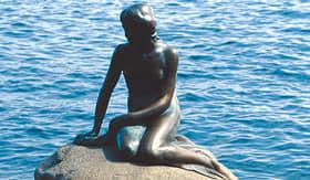 MSC Cruises Little Mermaid statue