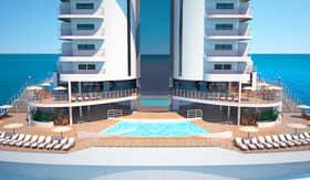 MSC Seaview Aft Pool