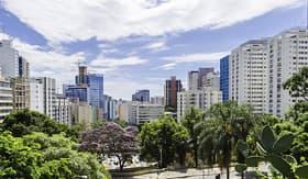 MSC Cruises Skyline of Sao Paulo, Brazil