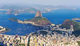 MSC Cruises Sugar Loaf Mountain in Rio de Janeiro, Brazil