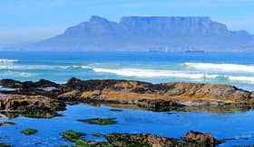 MSC Cruises - Table Mountain in Cape Town, South Africa