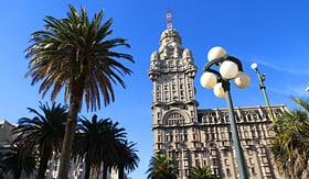 MSC Cruises The Palacio Salvo in Montevideo, Uruguay