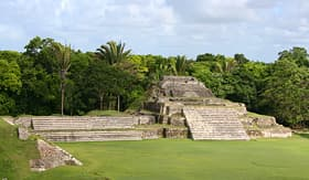 Norwegian Cruise Line Altun Ha Mayan Ruins in Belize