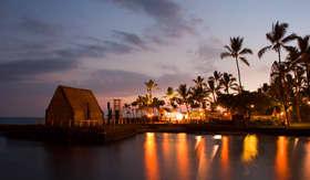 Norwegian Cruise Line beach party luau on big island Hawaii