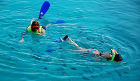 Norwegian Cruise Line - Children Snorkeling in the Bahamas