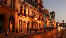 Havana, Cuba at Night