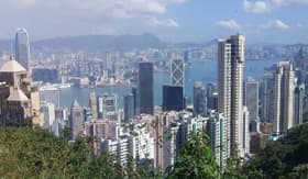Hong Kong Harbor Overlook