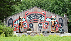 Native Village in Alaska